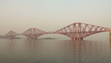 The Forth Bridge (or Forth rail bridge) near Edinburgh