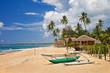 Fototapeten,tropisch,insel,strand,boot