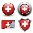 Swiss icons