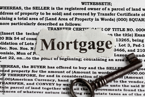 Mortgage word