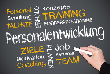 Personalentwicklung - Business Concept