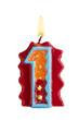 Geburtstagskerze Freisteller 1