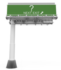 Freeway EXIT Sign question