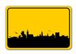 Ortsschild abstrakt Hannover