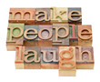 make people laugh