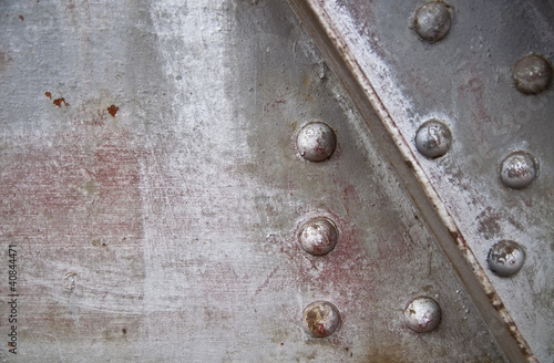 steel and rivets background