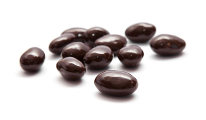 chocolate-coated almonds