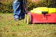 Vertikutieren Rasen mähen