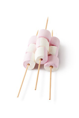 Marshmallow on the skewers