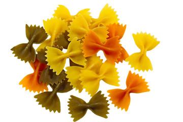 Tri Color Farfalle