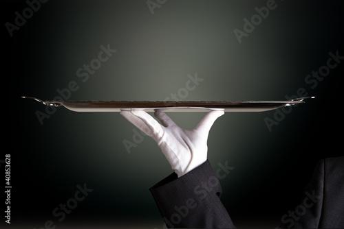 butler,angebot,präsentieren - 40853628