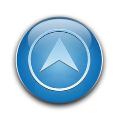 Button blue top, góra