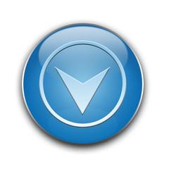 Button blue bottom, dół