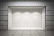 Leinwandbild Motiv An empty storefront