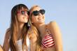 teens on summer vacation or spring break