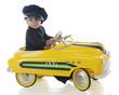 Taxi-Driving Tot
