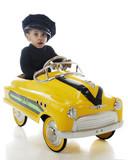 Fototapety Tiny Cabbie
