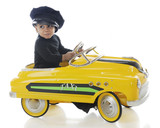Fototapety Taxi-Driving Tot