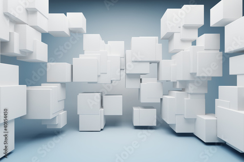 Abstract geometric shapes - 40854450