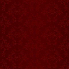 Red seamless wallpaper background pattern design