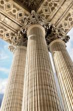 Panthéon Paris korinthische Kapitelle