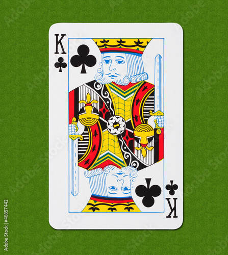 Play Card Club King