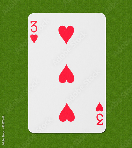 Play Card Heart