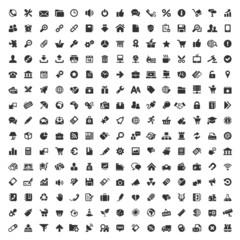 225 Black Web Icons