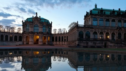 Architektur am Dresdner Zwinger