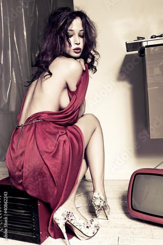 sensual woman