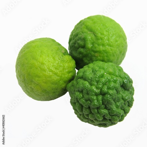 Kafffir Limes Isolated 1