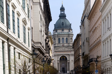 St Stephans Basilica in Budapest Hungary