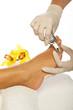 fusspflege und behandlung in therapie