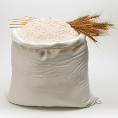 Bag of whole flour