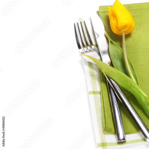 spring table settings