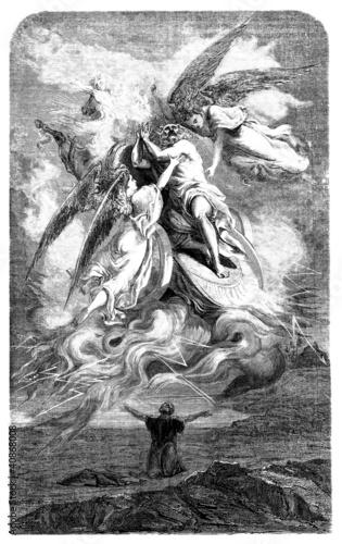 Prophet Elie-Elijah abducted to sky - 40868008