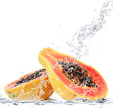 Fototapety papaya splash