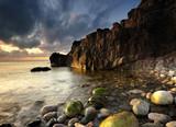 Fototapeta spokojny - wybrzeże - Dziki pejzaż
