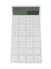 3d illustration: math calculator