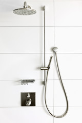 Luxury trendy shower room