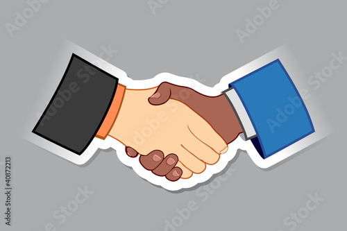 Sticker of Handshake
