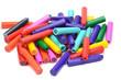 A pile of colour fountain pen refill cartridges