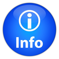 Info icon (blue button)