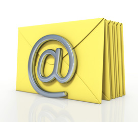 Several emails in a queue to be sent
