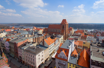 old town of Torun, Poland