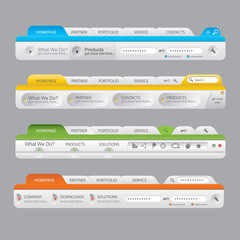 Web Design Navigation Elements