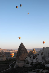 Cappadocia and hot air balloons