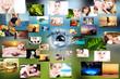 Traum Collage Urlaub und Entspannung
