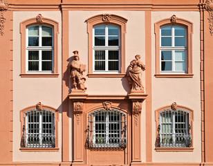 Deutschhaus-Fassade