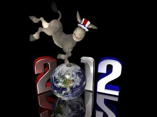 Democrat Kick - 2012